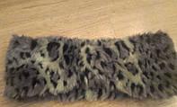 Фирменная меховая повязка TopShop