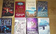 Книги детективы на английском языке - 8 ШТУК
