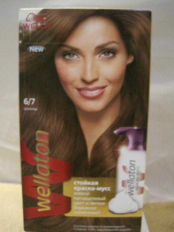 Краска-мусс для волос Wellaton
