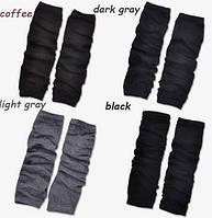 Митенки длинные перчатки без пальцев