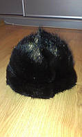 Норковая шапка. Натуральный мех норки