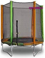 Батут Kidigo 183 см. с защитной сеткой