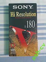 Видеокассета новая SONY E-180