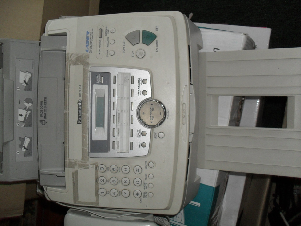 Факс Panasonic KX-FL513
