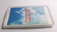 Футляр - силикон .LG H502 magna wh.--