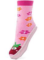 Носки-чешки махровые с кожаной подошвой Kids Misie