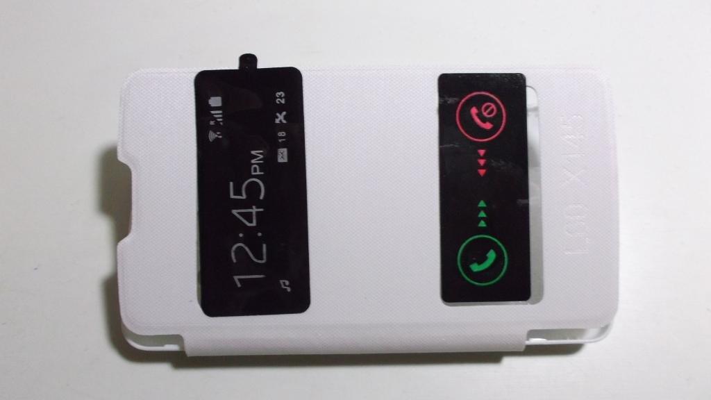 Чехол(флип) LG Х145 L60 wh.  --