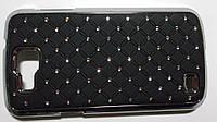 Футляр (пластик со стразами) SAMSUNG i9260 bl.--