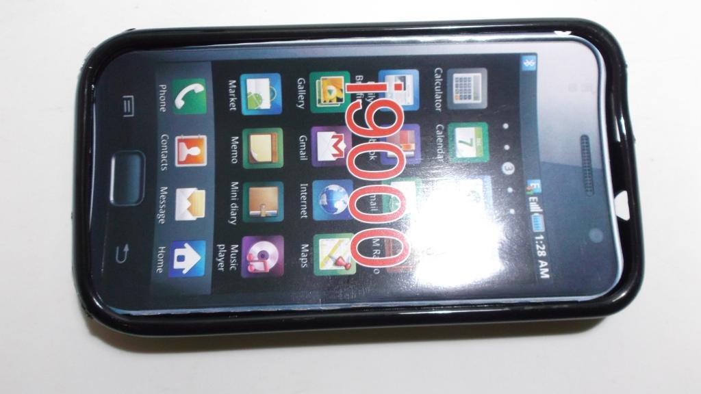Футляр - силикон. SAMSUNG i9000 bl.--