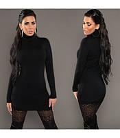 Теплый женский свитер-туника