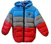 Куртка детская на мальчика полоска