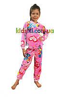 Детская пижама тёплая махровая