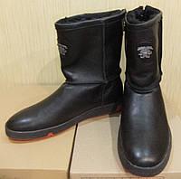 Casual wear зимние мужские кожаные угги 2016 обувь