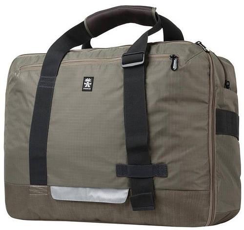 "Классная женская сумка для ноута до 17"" Crumpler Track Jack Board Case (golden weed) TJBC-002 темный беж"