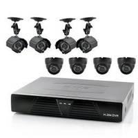 Видеорегистратор H 264 dvr на 8 камер
