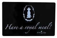 "Коврик под миску ""Have a royal meal"" 44х28 см Trixie 24472"