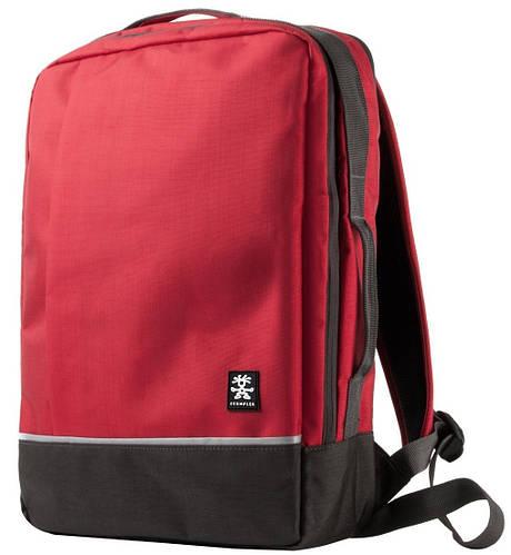 "Прочный рюкзак для гаджета 16"" Crumpler Proper Roady Backpack L (deep red) PRYBP-L-002 красный"