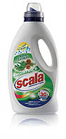 Безфосфатный жидкий порошок Scala Lavantrice Pino e Eucalipto 1,5L