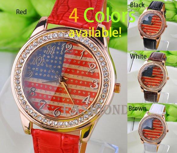 Часы женские USA STYLE 4 цвета