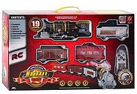 Железная дорога с дымом  3052