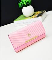 Кошелек клатч Chanel pink