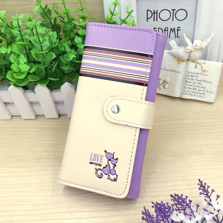 Кошелек женский TWO CATS purple