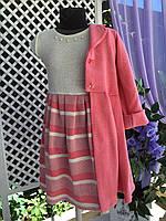 Платье с кардиганом 5, размеры 104 - 122