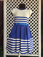 """Платье двойка """" Карина"""", размеры 104 - 128  см"""