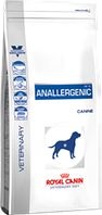 Royal Canin anallergenic AN18 корм для собак при пищевой аллергии 3кг