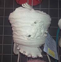 Шапка+шарф  детская флис Польша