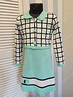 """Платье с пиджаком """"Эльвира""""5, размеры 104 - 146см"""
