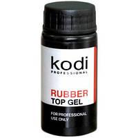 Каучуковое верхнее покрытие, топ Kodi Professional Rubber Top для гель-лака, 22 мл.