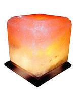 Артемовск Соляной светильник Квадрат 9  - 10 кг цветная лампа