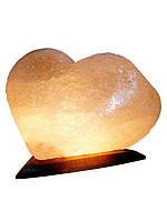 Артемовск Соляной светильник Сердце 4 - 5 кг обычная лампа