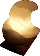 Артемовск Соляной светильник Месяц 3 - 4 кг обычная лампа