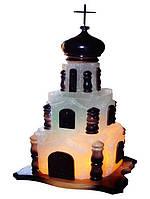 Артемовск Соляной светильник Церковь 15-18 кг обычная лампа
