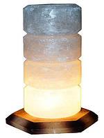 Артемовск Соляной светильник Свеча 2-3 кг обычная лампа