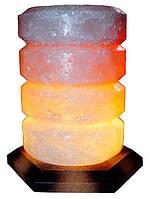 Артемовск Соляной светильник Свеча 4-5 кг цветная лампа
