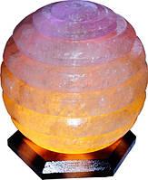 Артемовск Соляной светильник Сфера 6 - 7 кг цветная лампа