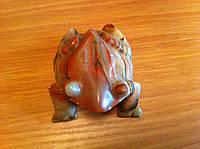 Лягушка (жаба) из натурального оникса.