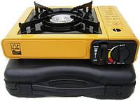 Плита портативна газовая 2 в 1 Tramp TRG-006 , настольная плитка