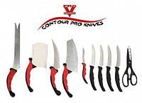 Набор кухонных ножей contour pro knives Профи , кухонные ножи контур про