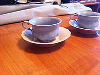 Кофейные венские чашечки с блюдцем