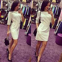 Платье женское Вегас белый , женская одежда