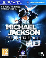 PS Vita Michael Jackson The Experience НОВАЯ