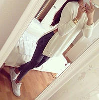 Удлиненный свитер женский белый, свитера женские