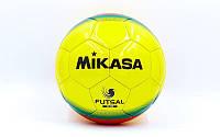 Мяч для футзала №4 Клееный-PU MIK FL-450