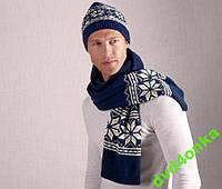 Мужской шарф и шапка ТСМ Tchibo Германия