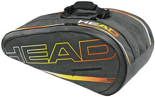 Удобная сумка-чехол для большого тенниса на 12 ракеток 283254 Radical Monstercombi HEAD