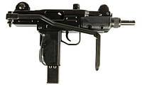 Пневматический пистолет пулемет УЗИ KWC KMB-07HN, магазин на 25 шариков ВВ 4,5 калибра, складной приклад